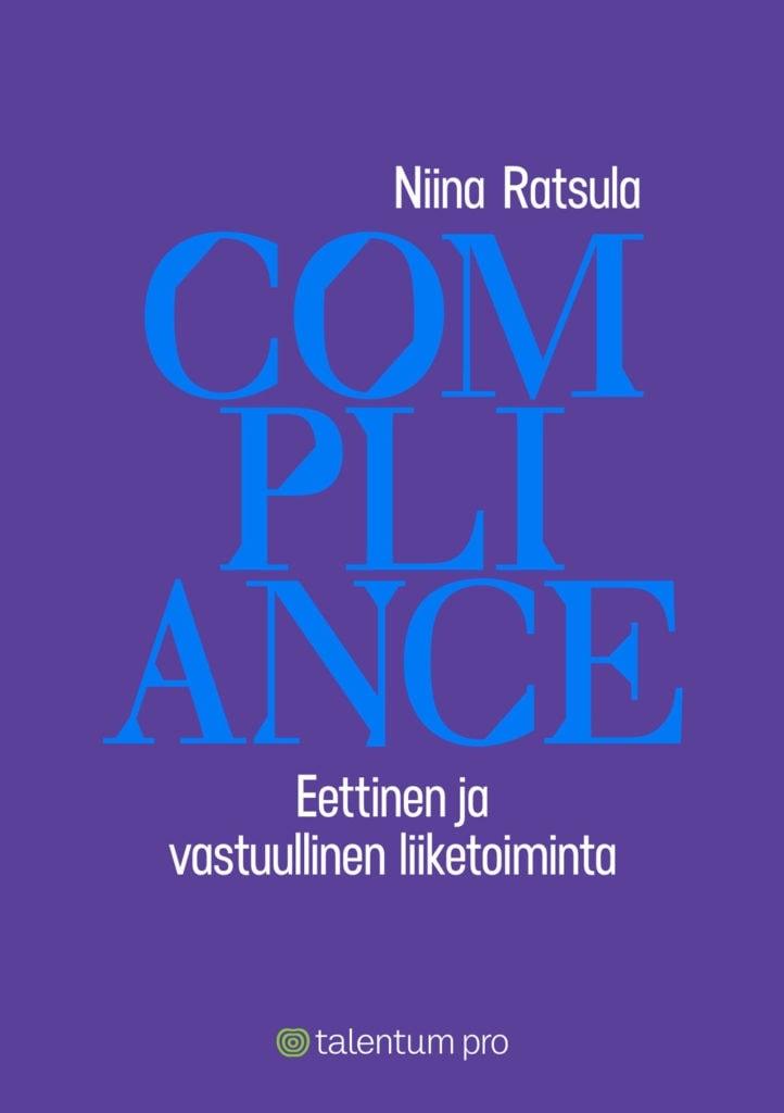 Compliance -kirjan kansilehti.